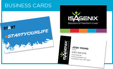 Isagenix Business Cards