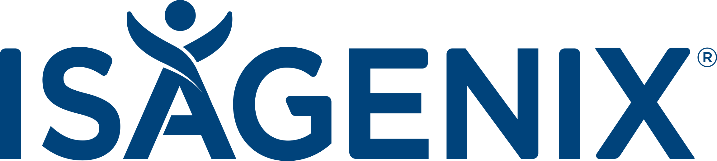 Isagenix Tertiary Logo Blue CMYK